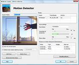 WebCam Looker motion detector configuration