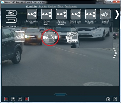 License plate recognition in videosurveillance program Xeoma ...