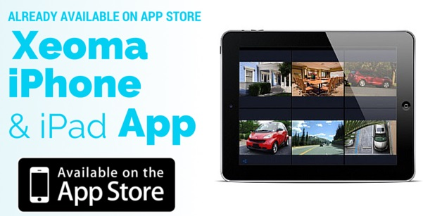 New Xeoma app cctv viewer for remote video surveillance from iPhone or iPad is already available on App Store