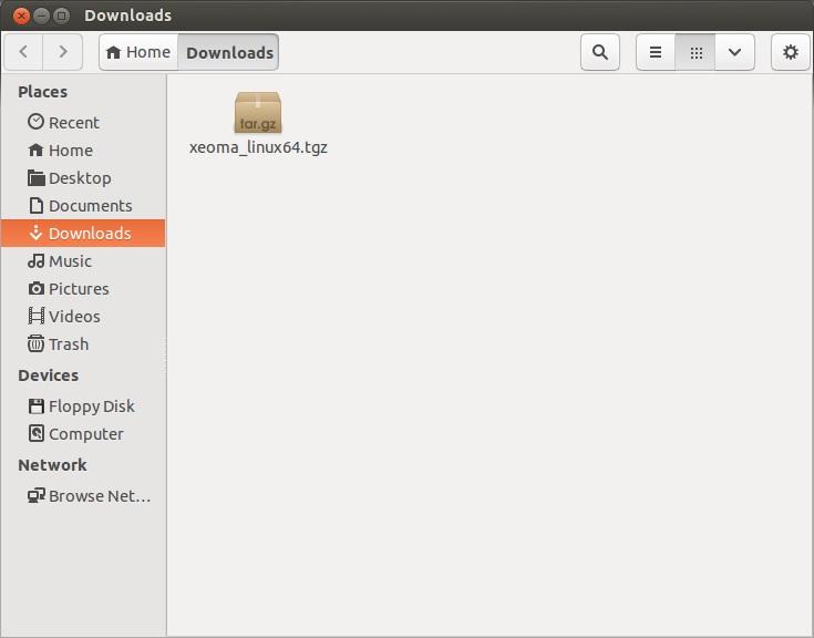Программа для видеонаблюдения для Linux Xeoma: инструкция по установке. Распаковка архива