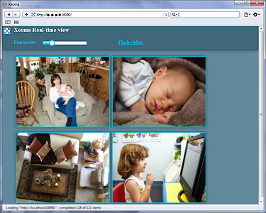 Parental control and children safety is easy with Xeoma Video Surveillance Software: cameras can be accessed via any browser, for example when you're at work