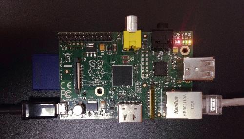 Вот так выглядит Raspberry Pi