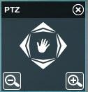 PTZ управление поворотными камерами в Xeoma