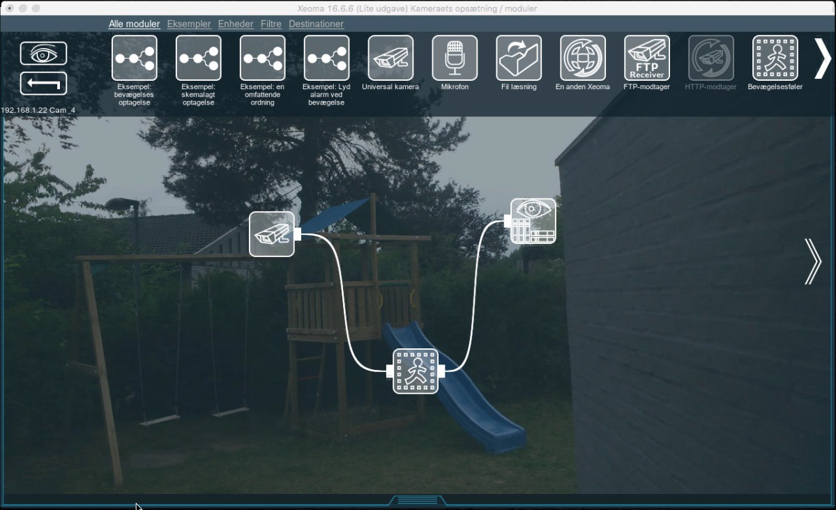 Create a simple home surveillance setup with what you have on hand