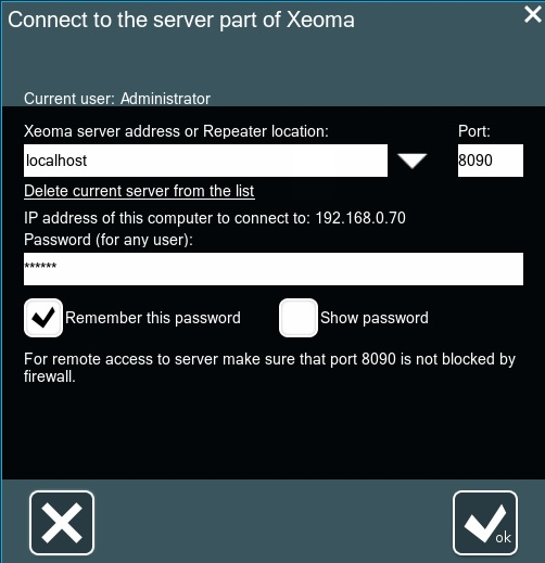 Remote connection is a simple system
