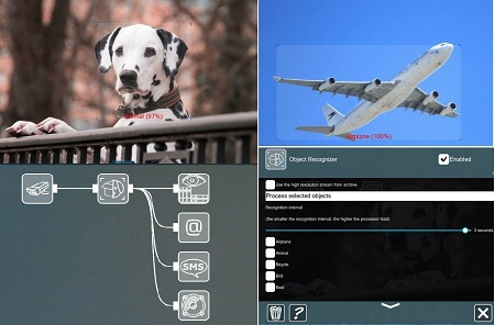The Object Recognition feature can detect various many objects types, for different tasks