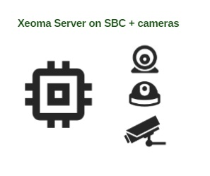 Complete video surveillance unit with Xeoma based on a single board computer