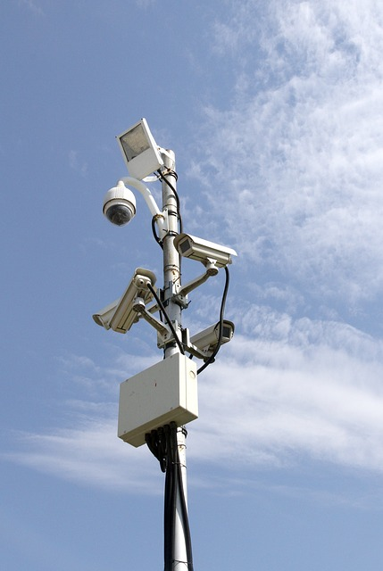 Video surveillance mounting