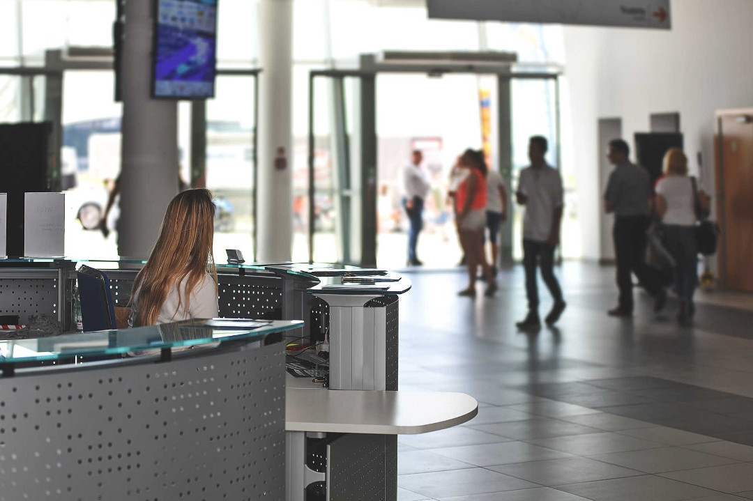 Xeoma can recognize human emotions in airport live on the fly