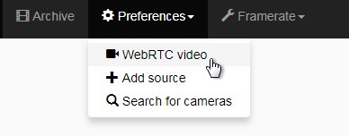 WebRTC in its natural habitat - a browser