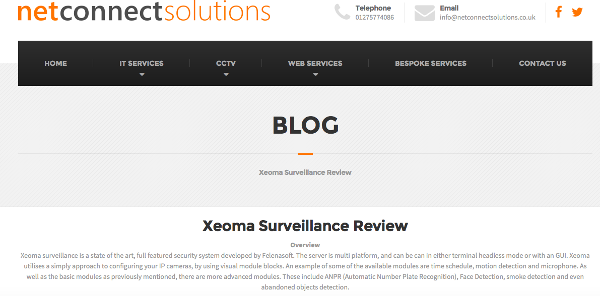 Xeoma Surveillance Review