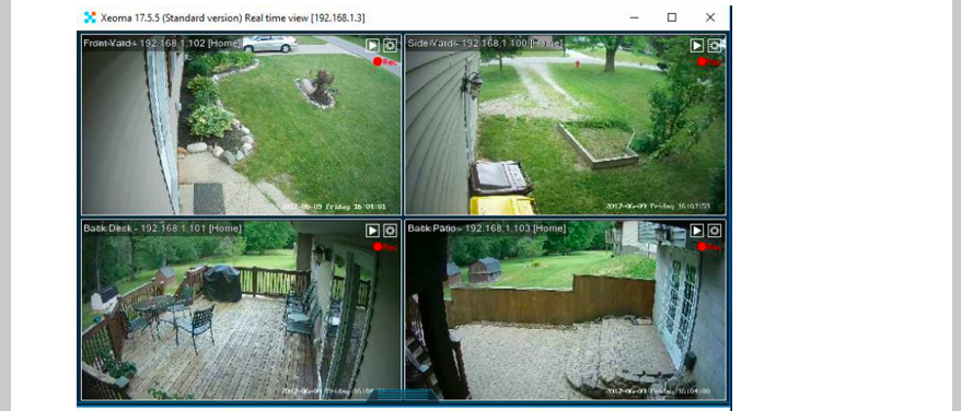 My Video Surveillance Experience
