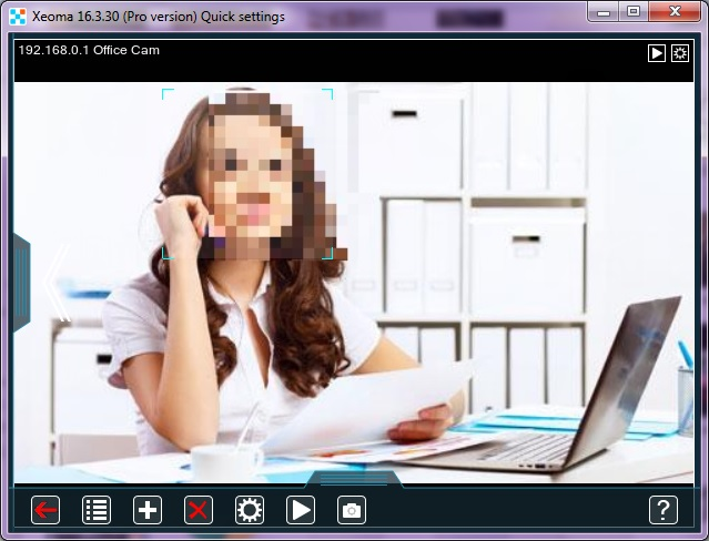 Face Blur in Xeoma video surveillance – Felenasoft
