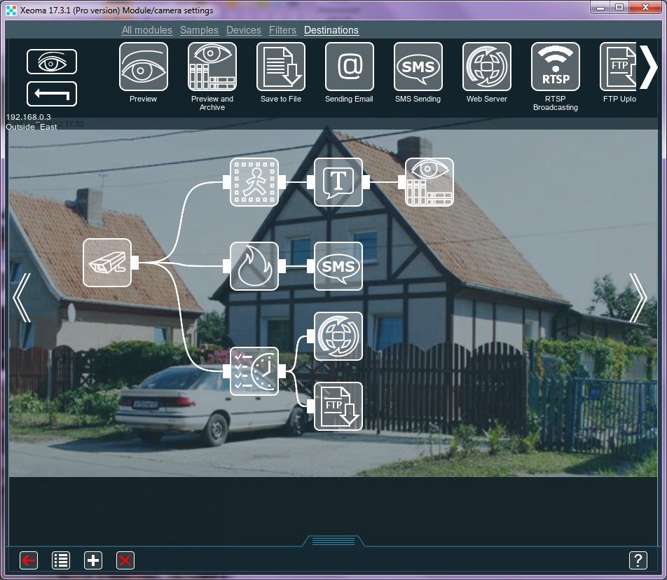 Xeoma cctv software key features – Felenasoft