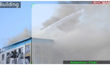 Detection of Smoke is included in Xeoma Pro Your Cloud