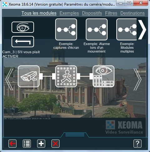 Xeoma Video Surveillance Software Freeware